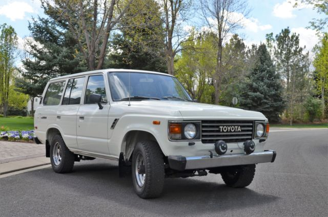 1985 toyota fj 60 land cruiser outstanding well maintained low mileage vehicle for sale. Black Bedroom Furniture Sets. Home Design Ideas