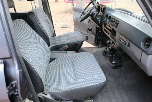 1985 toyota land cruiser fj60 low miles clean interior for sale toyota land cruiser fj60. Black Bedroom Furniture Sets. Home Design Ideas