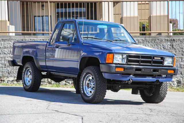 1985 Toyota Pickup Xtracab Sr5 4x4 5 Speed 30 565 Mi 1