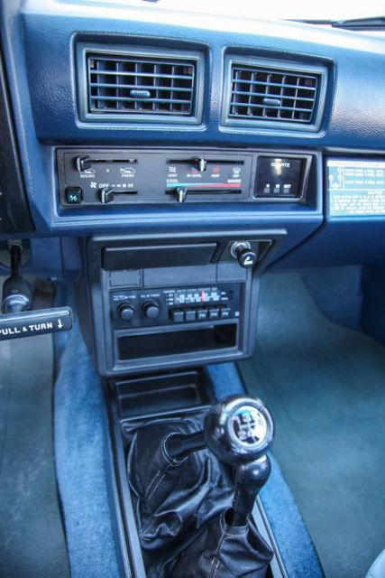 Toyota Pickup Xtracab Sr X Speed Mi Owner Original Survivor on 1985 Toyota Pickup Engine