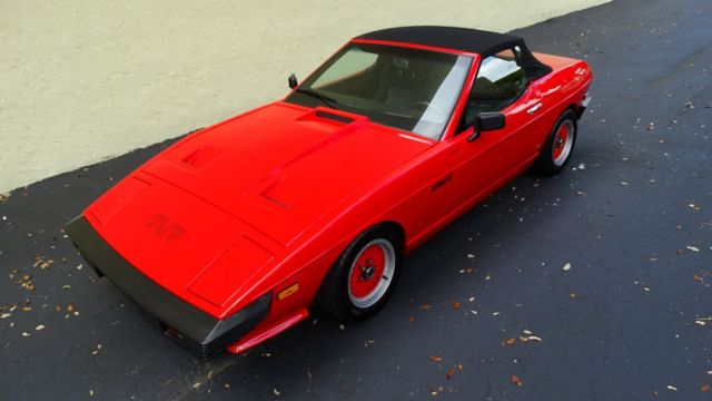 1985 tvr 280i ultra luxury sports car convertible rare car in excellent shape for sale other. Black Bedroom Furniture Sets. Home Design Ideas