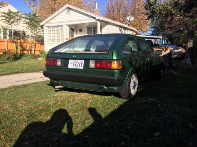 1985 Volkswagen Scirocco ABA Cedar Green for sale - Volkswagen