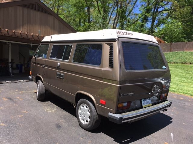 Mint 1985 Volkswagen Westfalia Vanagon - YouTube