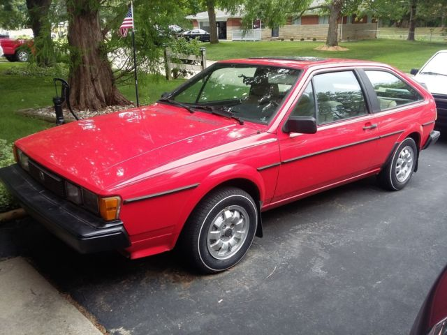 1985 VW Scirocco 5-Speed 8-Valve for sale - Volkswagen Scirocco 1985