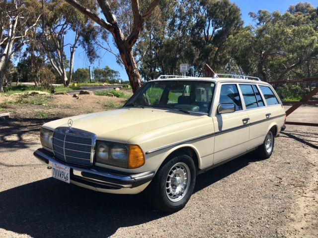 1985 w123 euro mercedes benz 300tdt 300td wagon for sale for Mercedes benz w123 for sale