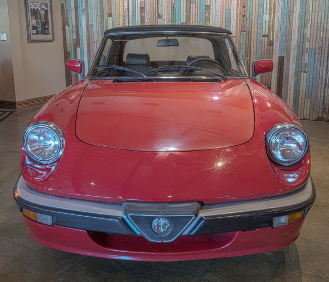 1986 Alfa Romeo Spider, 2 Owner, No Rust, Straight Body