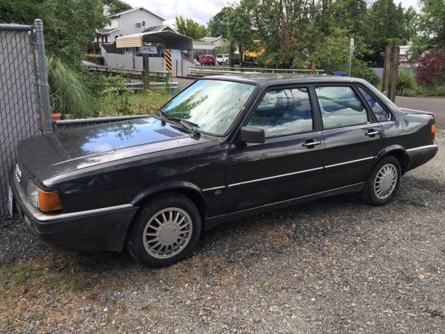 1986 Audi 4000 Cs Quattro Runs And Drives No Reserve Great