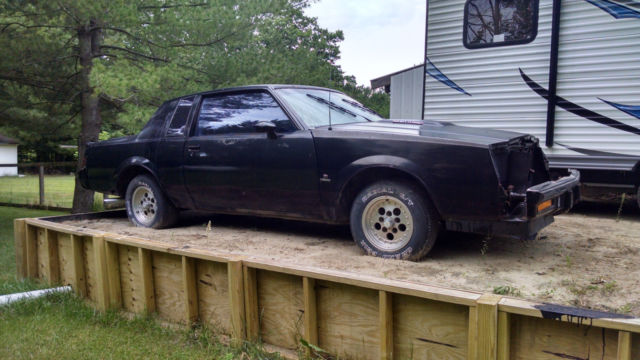 1986 Buick Regal Grand National Coupe 2 Door 3 8l Project