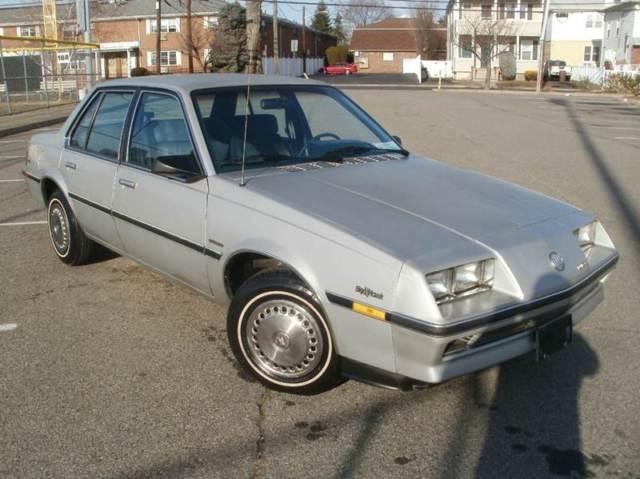 1986 Buick Skyhawk Custom 4cyl Lik Chevy Cavalier Z24