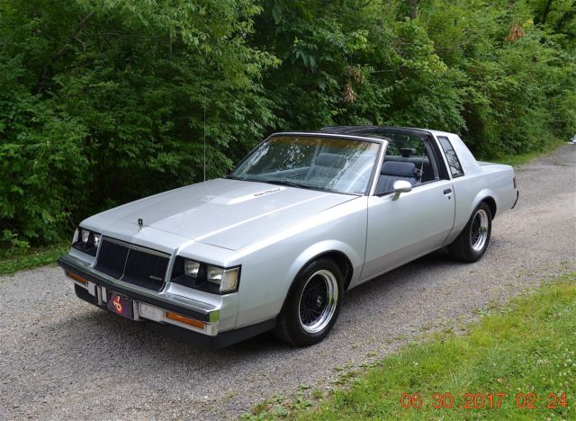 1986 Buick T Type 3 8l Turbo T Tops Loaded Solid Original