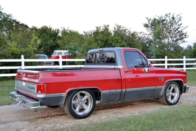 1986 c10 chevy pickup truck short bed square body ac v8 must see for sale chevrolet other. Black Bedroom Furniture Sets. Home Design Ideas