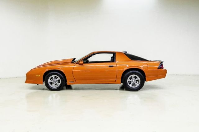 1986 chevrolet camaro 93196 miles burnt orange coupe 8 for 305 chevy motor for sale