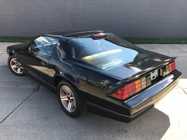 1986 chevrolet camaro iroc z 11 509 original miles for. Black Bedroom Furniture Sets. Home Design Ideas