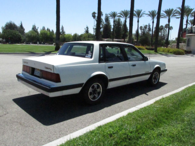1986 Chevrolet Celebrity EuroSport Station Wagon V6 Super ...