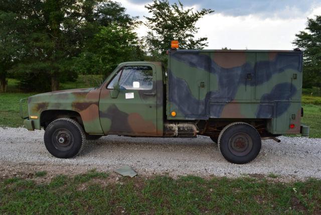 1986 Chevrolet Cucv M1031 4x4 Military 5  4 Ton K30 Diesel