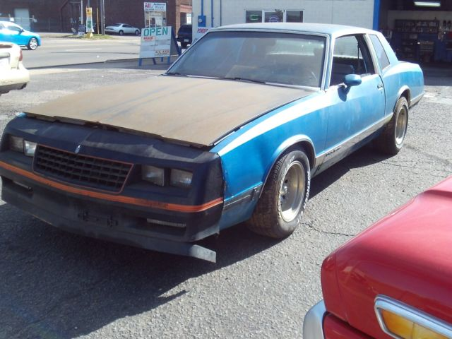 1986 chevrolet monte carlo with 455 oldsmobile engine for sale chevrolet monte carlo 1986 for. Black Bedroom Furniture Sets. Home Design Ideas
