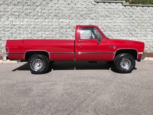 1986 chevrolet scottsdale c k 10 pickup 1500 4 wheel for Motor vehicle department scottsdale