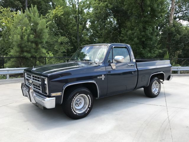 1986 chevy c 10 short bed pickup truck for sale chevrolet c 10 c 10 1986 for sale in raleigh. Black Bedroom Furniture Sets. Home Design Ideas
