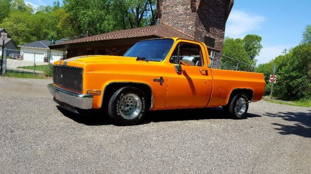 86 chevy pickup hood