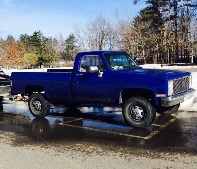 1986 Chevy K20 Truck Mint Body Rust Free! For Sale