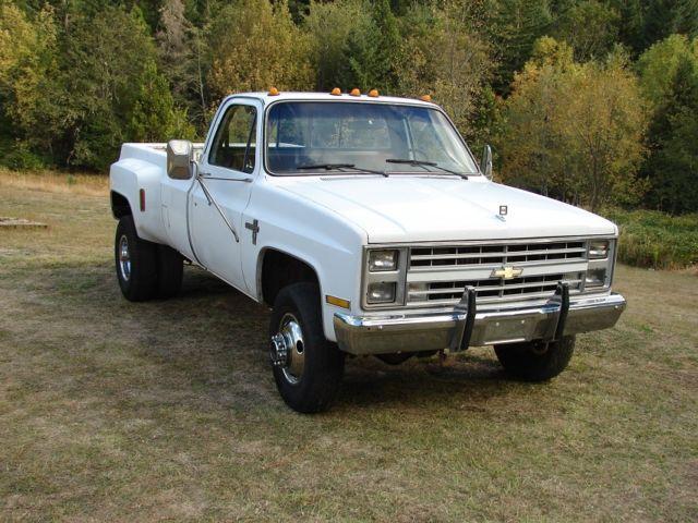 1986 chevy k30 4x4 1 ton pickup truck dually diesel gmc 3500 for sale chevrolet c k pickup. Black Bedroom Furniture Sets. Home Design Ideas