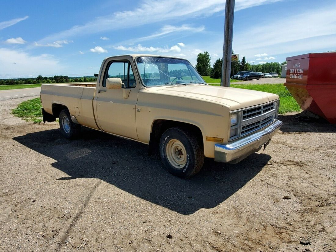 1986 Chevy Pickup Truck Square Body C10 Solid Montana Truck Custom Deluxe For Sale Chevrolet Other Pickups 1986 For Sale In Lake Park Minnesota United States