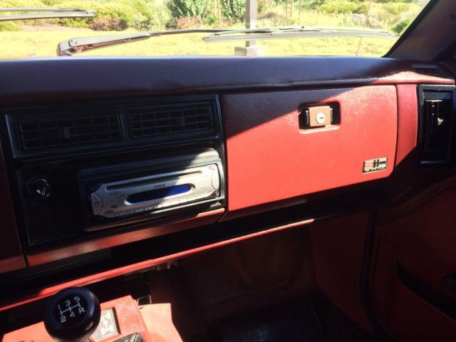 1986 Chevy S10 4X4 2dr 5 speed Blazer for sale - Chevrolet ...