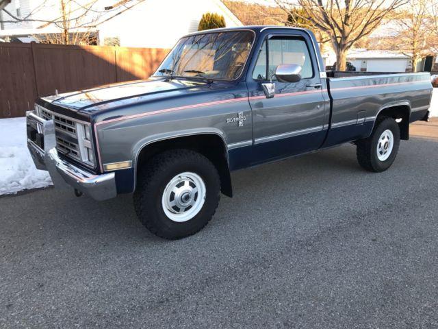 1986 Chevy Truck Silverado 4x4 K20 3 4 Ton 427 V8 Very