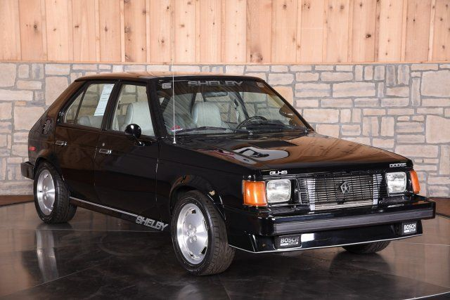 1986 dodge omni shelby glhs black 4dr hatchback auto manual for sale dodge other shelby glhs. Black Bedroom Furniture Sets. Home Design Ideas