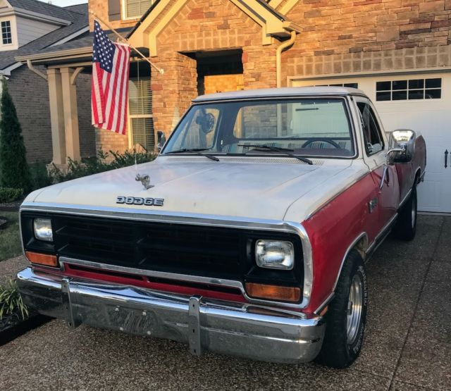1986 Dodge Ram D150 Truck For Sale Dodge Ram 1500 D150 1986 For Sale In Brentwood Tennessee United States