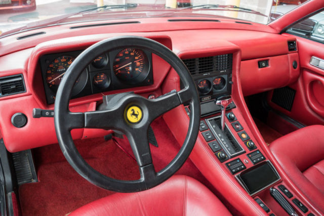 1986 ferrari 412 nt 400 17 000 original miles paint and interior 1 of 572 built for sale. Black Bedroom Furniture Sets. Home Design Ideas