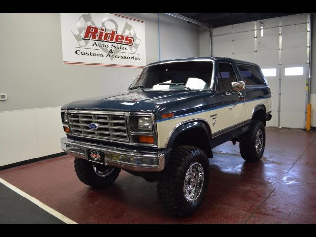 1986 Ford Bronco Xlt 2dr 32 150 Miles Blue White 5 0l V8 Ohv 16v Fi Engine Aut For Sale Ford Other Pickups 1986 For Sale In Bismarck North Dakota United States