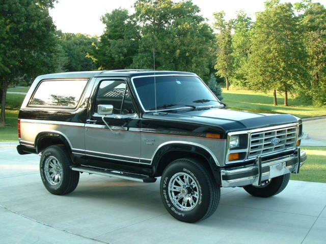 1986 Ford Bronco Xlt Sport Utility 2 Door 5 8l For Sale