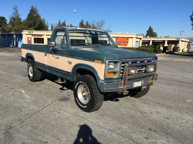 1986 ford f 250 xlt lariat 4x4 1 owner 26k actual miles hd video tons of pics for sale ford f. Black Bedroom Furniture Sets. Home Design Ideas