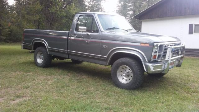 1986 Ford F150 Lariat Xlt 4x4 For Sale