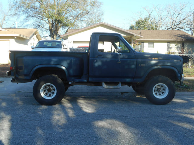1986 ford f150 lifted 4x4 step side truck new v8 302 motor for 1998 ford f150 motor for sale