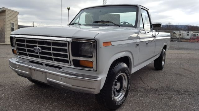 1986 Ford F150 Truck For Sale