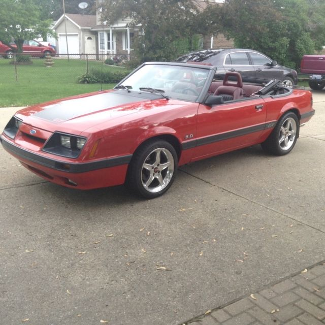 1986 ford mustang gt convertable for sale ford mustang 1986 for sale in south lyon michigan. Black Bedroom Furniture Sets. Home Design Ideas