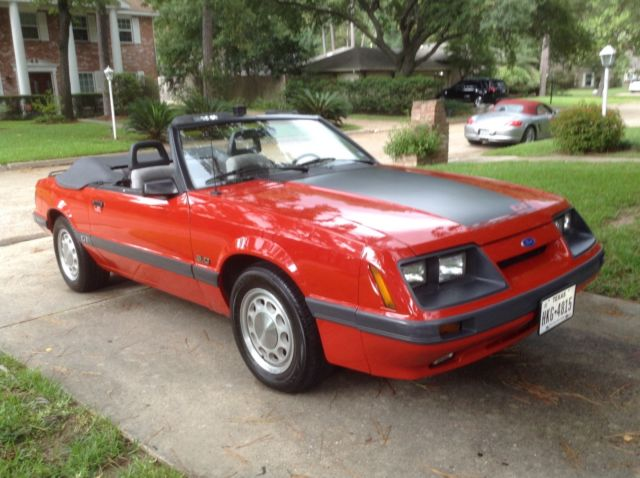 1986 Ford Mustang Gt Convertible Original 2 Owner For Sale