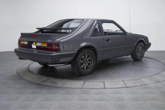 1986 ford mustang svo 11027 miles dark gray hatchback 2 3l efi turbo i4 5 speed for sale ford. Black Bedroom Furniture Sets. Home Design Ideas