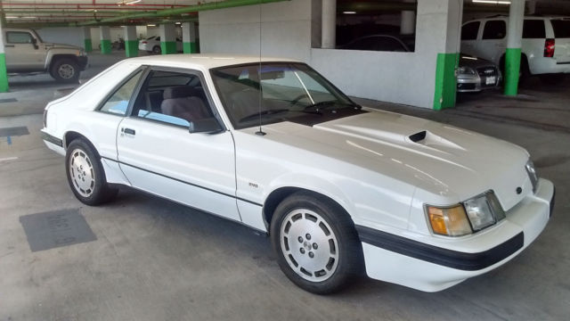 1986 ford mustang svo nos parts sharp condition no reserve 1 of 561 9l code made for sale ford. Black Bedroom Furniture Sets. Home Design Ideas