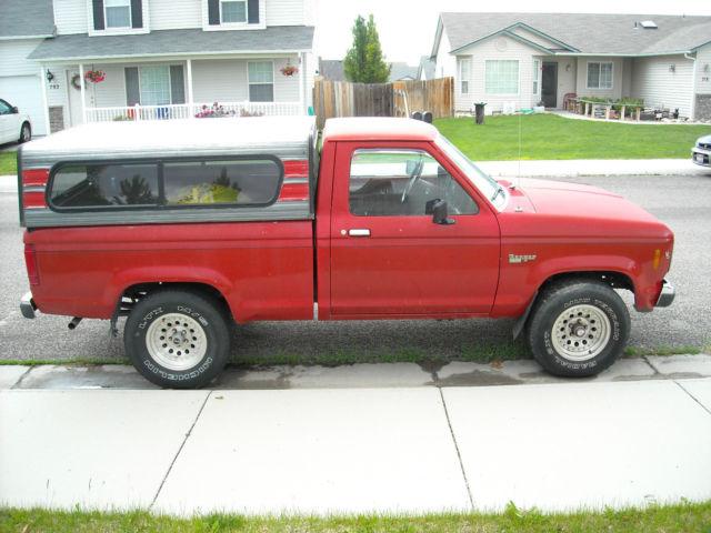 1986 ford ranger 4x4 2 9 liter fuel injected v6 for sale ford ranger xl 1986 for sale in kuna. Black Bedroom Furniture Sets. Home Design Ideas