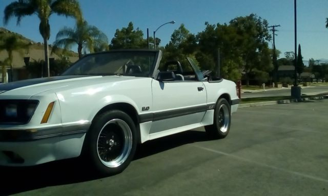 1986 gt ford mustang 5 0 convertible foxbody for sale ford mustang convertible 1986 for sale. Black Bedroom Furniture Sets. Home Design Ideas