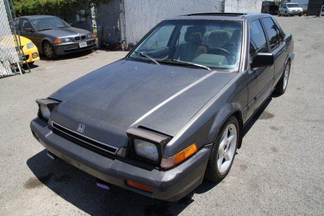 1986 honda accord lxi manual 4 cylinder no reserve for for How many miles does a honda accord last