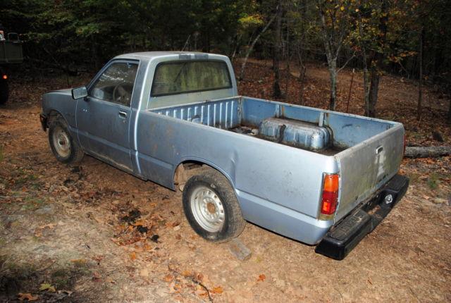 1986 isuzu pickup isuzu pup isuzu truck isuzu diesel automatic 2 door 2 3l for sale isuzu pup. Black Bedroom Furniture Sets. Home Design Ideas