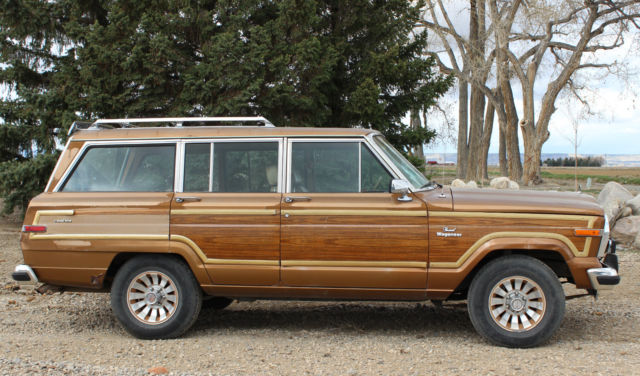 1986 jeep grand wagoneer woody 4x4 for sale jeep wagoneer 1986 for sale in powell wyoming. Black Bedroom Furniture Sets. Home Design Ideas