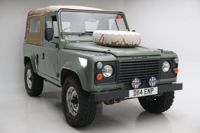 1986 Land Rover Defender 90 Green With 29 006 Miles
