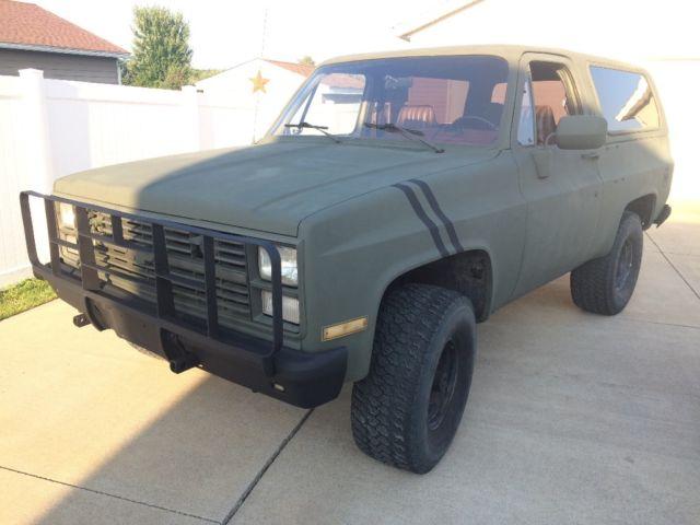 1986 M1009 CUCV K5 CHEVY BLAZER for sale - Chevrolet Blazer