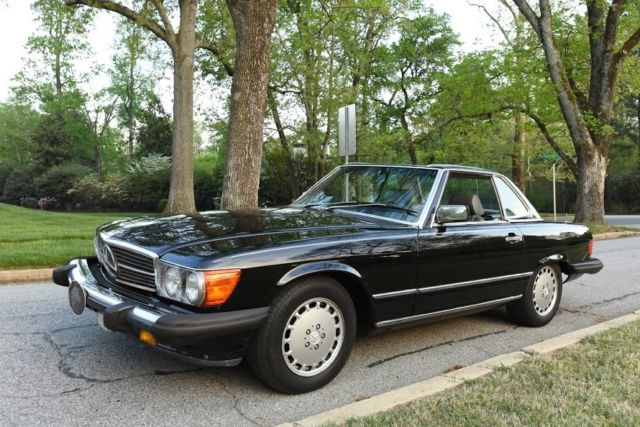 1986 mercedes 560sl 2dr convertible for sale mercedes for Mercedes benz sl convertible for sale