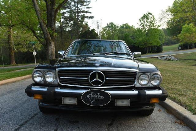 1986 mercedes 560sl 2dr convertible for sale mercedes Mercedes benz greensboro north carolina